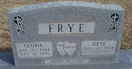 FRYE, GLORIA - Nowata County, Oklahoma | GLORIA FRYE - Oklahoma Gravestone Photos