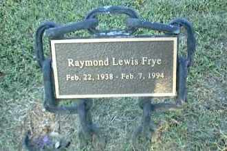 FRYE, RAYMOND LEWIS - Nowata County, Oklahoma | RAYMOND LEWIS FRYE - Oklahoma Gravestone Photos