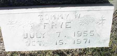 FRYE, TOMMY W. - Nowata County, Oklahoma | TOMMY W. FRYE - Oklahoma Gravestone Photos