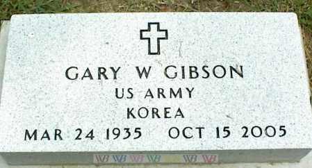 GIBSON, GARY W. - Nowata County, Oklahoma | GARY W. GIBSON - Oklahoma Gravestone Photos