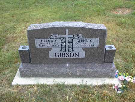 GIBSON, THELMA G. - Nowata County, Oklahoma | THELMA G. GIBSON - Oklahoma Gravestone Photos