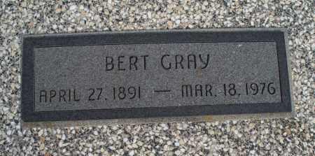 GRAY, BERT - Nowata County, Oklahoma | BERT GRAY - Oklahoma Gravestone Photos