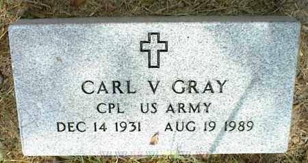 GRAY, CARL V. - Nowata County, Oklahoma   CARL V. GRAY - Oklahoma Gravestone Photos