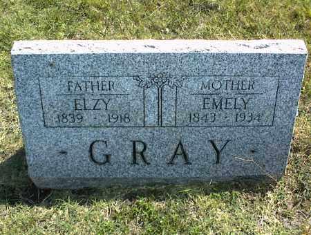 GRAY, EMELY - Nowata County, Oklahoma | EMELY GRAY - Oklahoma Gravestone Photos