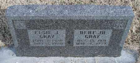 GRAY, BERT JR. - Nowata County, Oklahoma | BERT JR. GRAY - Oklahoma Gravestone Photos