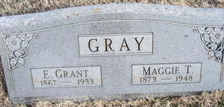 GRAY, MAGGIE T. - Nowata County, Oklahoma | MAGGIE T. GRAY - Oklahoma Gravestone Photos