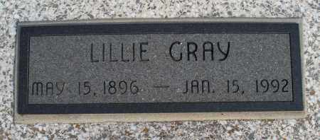 GRAY, LILLIE - Nowata County, Oklahoma | LILLIE GRAY - Oklahoma Gravestone Photos