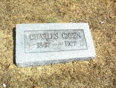 GREEN, CHARLES - Nowata County, Oklahoma | CHARLES GREEN - Oklahoma Gravestone Photos