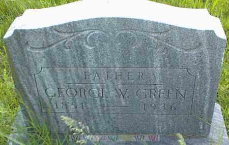 GREEN, GEORGE W. - Nowata County, Oklahoma | GEORGE W. GREEN - Oklahoma Gravestone Photos