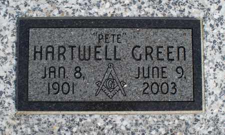 GREEN, HARTWELL - Nowata County, Oklahoma | HARTWELL GREEN - Oklahoma Gravestone Photos