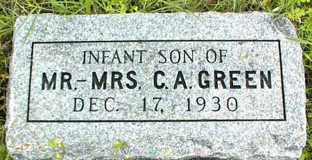 GREEN, INFANT SON - Nowata County, Oklahoma | INFANT SON GREEN - Oklahoma Gravestone Photos