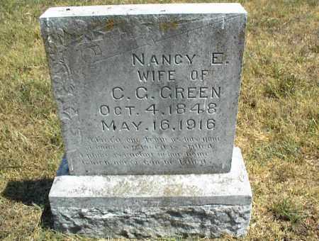 GREEN, NANCY E. - Nowata County, Oklahoma   NANCY E. GREEN - Oklahoma Gravestone Photos