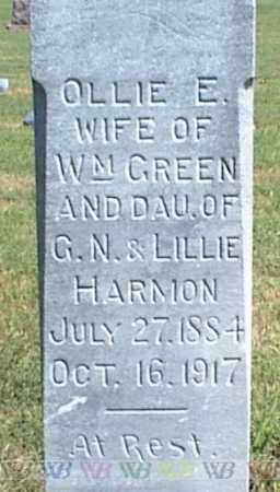 GREEN, OLLIE E. - Nowata County, Oklahoma | OLLIE E. GREEN - Oklahoma Gravestone Photos
