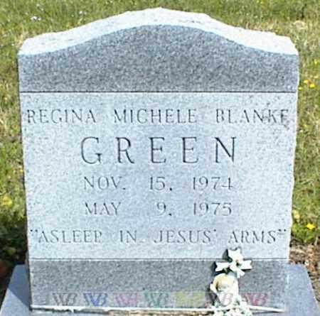 GREEN, REGINA MICHELE BLANKE - Nowata County, Oklahoma | REGINA MICHELE BLANKE GREEN - Oklahoma Gravestone Photos