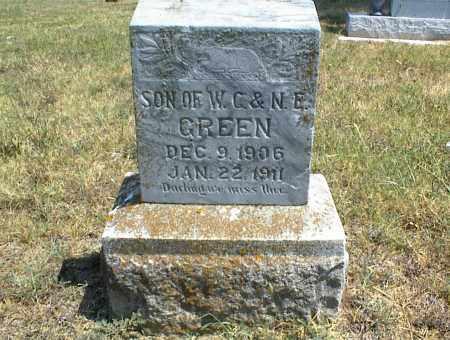 GREEN, SON - Nowata County, Oklahoma   SON GREEN - Oklahoma Gravestone Photos
