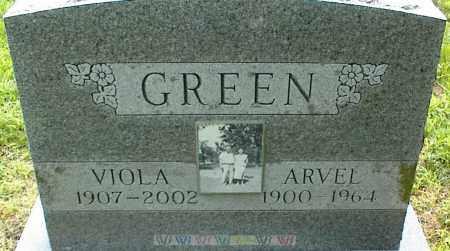 GREEN, ARVEL - Nowata County, Oklahoma | ARVEL GREEN - Oklahoma Gravestone Photos