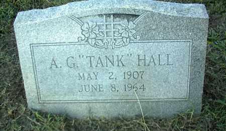 HALL, A. G. - Nowata County, Oklahoma | A. G. HALL - Oklahoma Gravestone Photos
