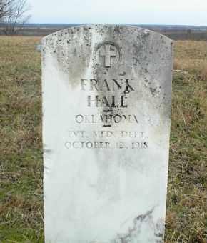 HALL, FRANK - Nowata County, Oklahoma   FRANK HALL - Oklahoma Gravestone Photos