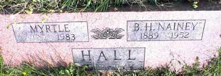HALL, MYRTLE - Nowata County, Oklahoma | MYRTLE HALL - Oklahoma Gravestone Photos
