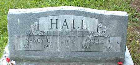 HALL, ARCHIE B. - Nowata County, Oklahoma | ARCHIE B. HALL - Oklahoma Gravestone Photos
