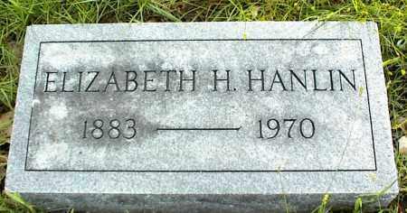 HANLIN, ELIZABETH H. - Nowata County, Oklahoma | ELIZABETH H. HANLIN - Oklahoma Gravestone Photos