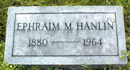 HANLIN, EPHRAIM M. - Nowata County, Oklahoma   EPHRAIM M. HANLIN - Oklahoma Gravestone Photos