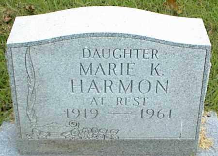 HARMON, MARIE K. - Nowata County, Oklahoma | MARIE K. HARMON - Oklahoma Gravestone Photos