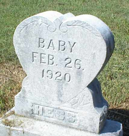 HESS, BABY - Nowata County, Oklahoma   BABY HESS - Oklahoma Gravestone Photos