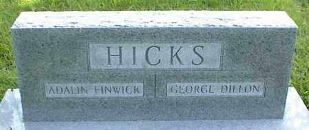 HICKS, GEORGE DILLON - Nowata County, Oklahoma | GEORGE DILLON HICKS - Oklahoma Gravestone Photos