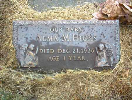 HICKS, ALMA M. - Nowata County, Oklahoma | ALMA M. HICKS - Oklahoma Gravestone Photos