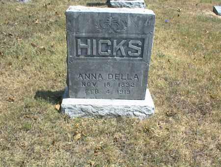 HICKS, ANNA DELLA - Nowata County, Oklahoma   ANNA DELLA HICKS - Oklahoma Gravestone Photos