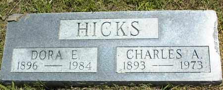 HICKS, DORA E. - Nowata County, Oklahoma   DORA E. HICKS - Oklahoma Gravestone Photos