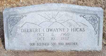 HICKS, DELBERT - Nowata County, Oklahoma | DELBERT HICKS - Oklahoma Gravestone Photos