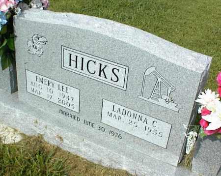 HICKS, EMERY LEE - Nowata County, Oklahoma | EMERY LEE HICKS - Oklahoma Gravestone Photos