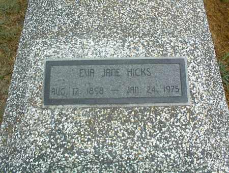 HICKS, EVA JANE - Nowata County, Oklahoma | EVA JANE HICKS - Oklahoma Gravestone Photos