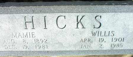 HICKS, MAMIE - Nowata County, Oklahoma | MAMIE HICKS - Oklahoma Gravestone Photos