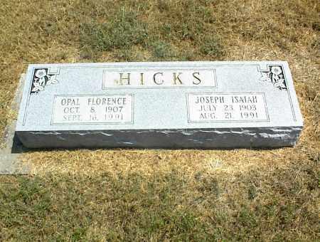 HICKS, OPAL FLORENCE - Nowata County, Oklahoma | OPAL FLORENCE HICKS - Oklahoma Gravestone Photos