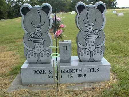 HICKS, ROZE - Nowata County, Oklahoma | ROZE HICKS - Oklahoma Gravestone Photos