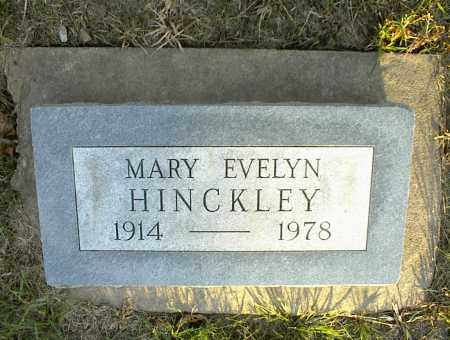 HINCKLEY, MARY EVELYN - Nowata County, Oklahoma | MARY EVELYN HINCKLEY - Oklahoma Gravestone Photos