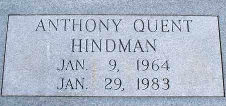 HINDMAN, ANTHONY QUENT - Nowata County, Oklahoma | ANTHONY QUENT HINDMAN - Oklahoma Gravestone Photos