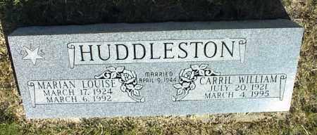 HUDDLESTON, MARIAN LOUISE - Nowata County, Oklahoma | MARIAN LOUISE HUDDLESTON - Oklahoma Gravestone Photos