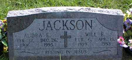 JACKSON, WILL E. - Nowata County, Oklahoma | WILL E. JACKSON - Oklahoma Gravestone Photos