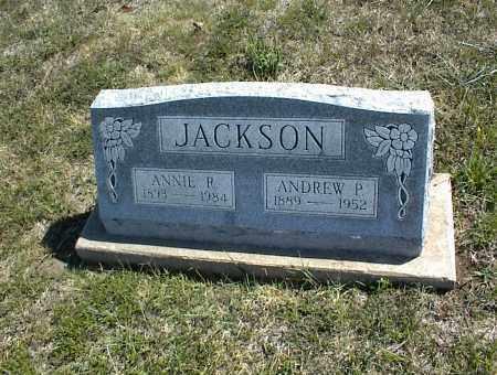 JACKSON, ANNIE P. - Nowata County, Oklahoma | ANNIE P. JACKSON - Oklahoma Gravestone Photos