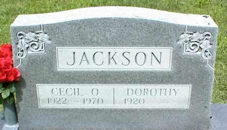 JACKSON, CECIL O. - Nowata County, Oklahoma | CECIL O. JACKSON - Oklahoma Gravestone Photos