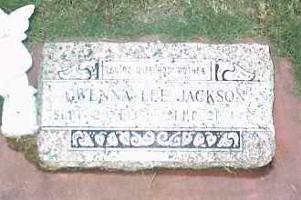 JACKSON, GWENNA LEE - Nowata County, Oklahoma   GWENNA LEE JACKSON - Oklahoma Gravestone Photos