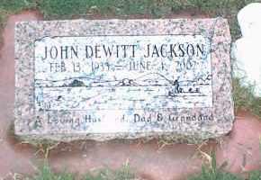JACKSON, JOHN DEWITT - Nowata County, Oklahoma | JOHN DEWITT JACKSON - Oklahoma Gravestone Photos