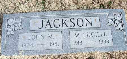 JACKSON, JOHN M. - Nowata County, Oklahoma   JOHN M. JACKSON - Oklahoma Gravestone Photos