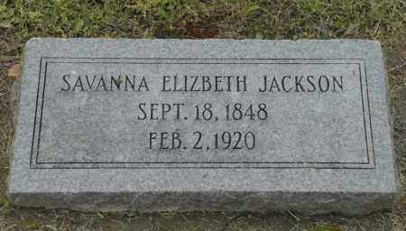 JACKSON, SAVANNA ELIZBETH - Nowata County, Oklahoma | SAVANNA ELIZBETH JACKSON - Oklahoma Gravestone Photos