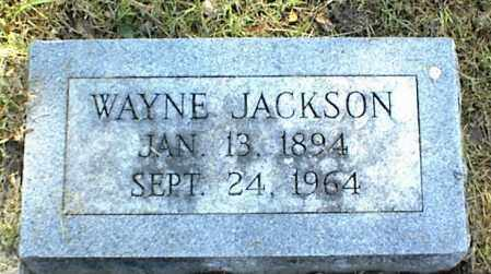 JACKSON, WAYNE - Nowata County, Oklahoma | WAYNE JACKSON - Oklahoma Gravestone Photos