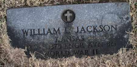 JACKSON (VETERAN WWII), WILLIAM L. - Nowata County, Oklahoma   WILLIAM L. JACKSON (VETERAN WWII) - Oklahoma Gravestone Photos